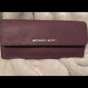 Handbags - MK stefanio leather wallet.